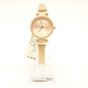 NWT FOSSIL Georgia Watch Rose Gold Stainless Steel
